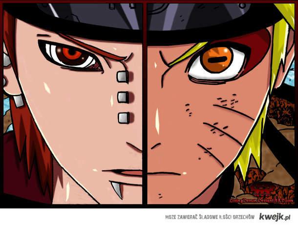 Pein VS Naruto