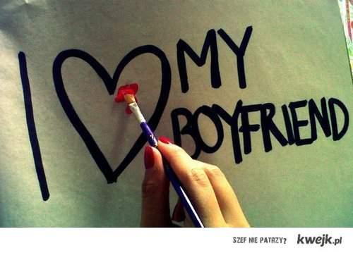 i <3 my boyfriend