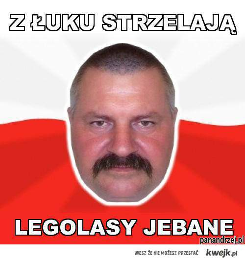 Pan Andrzej naoglądał się LoTR