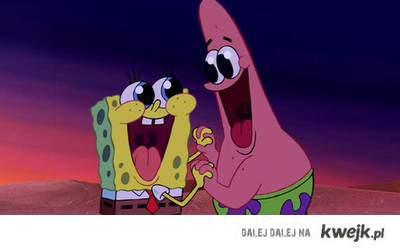 spongebob, patrick