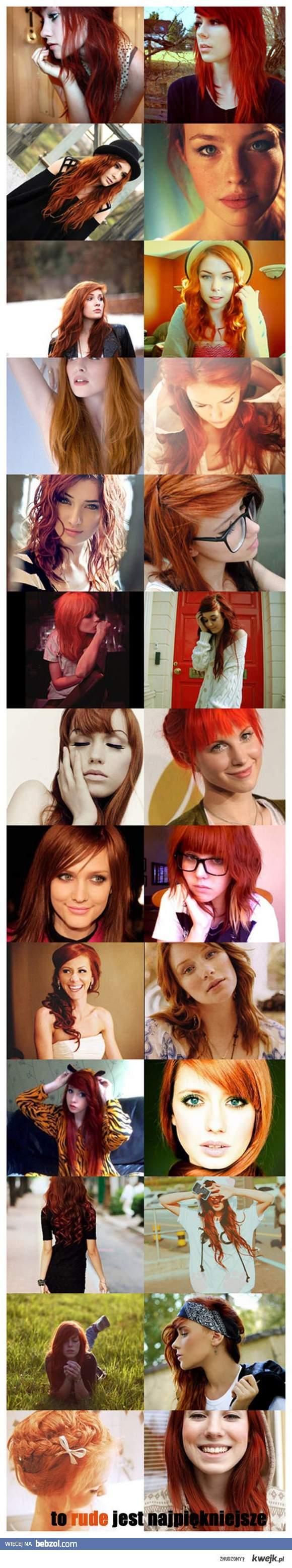 Bo rude jest piękne;*
