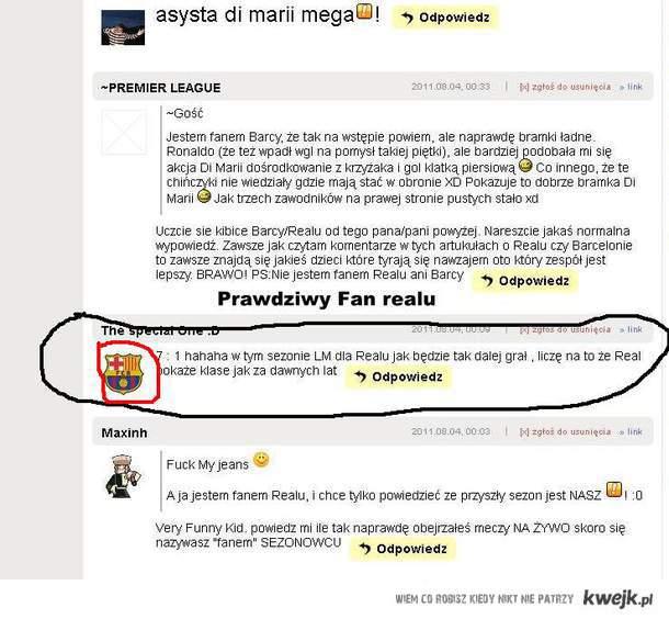 Prawdziwy fan realu