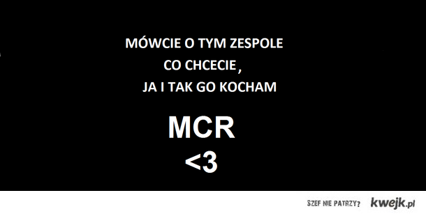 Kończę Temat MCR :3