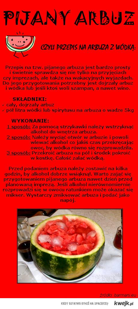 pijany arbuz