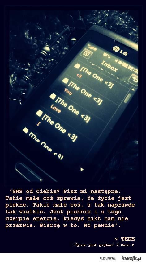 love SMS, TEDE!