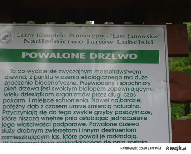 Powalone...