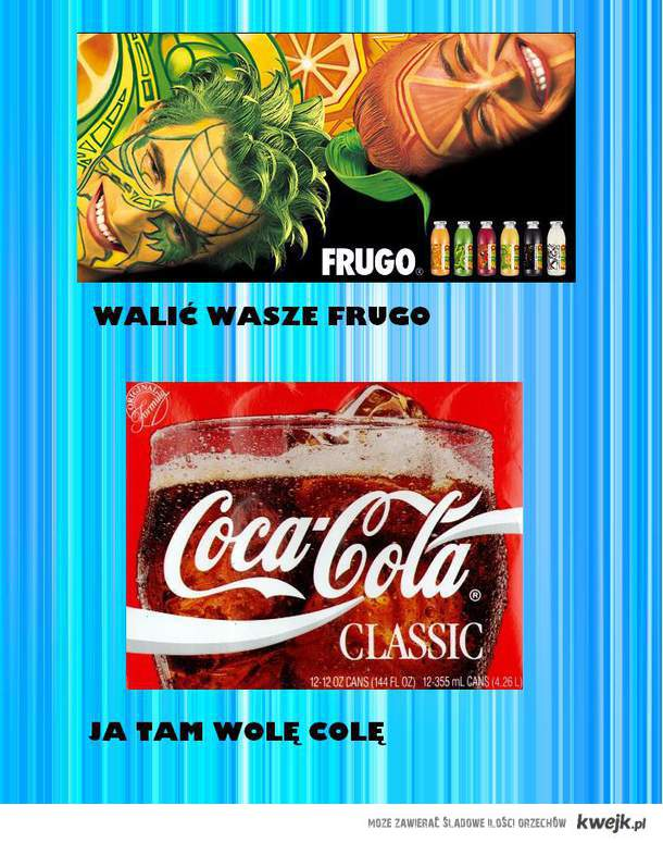 FRUGO vs. COLA