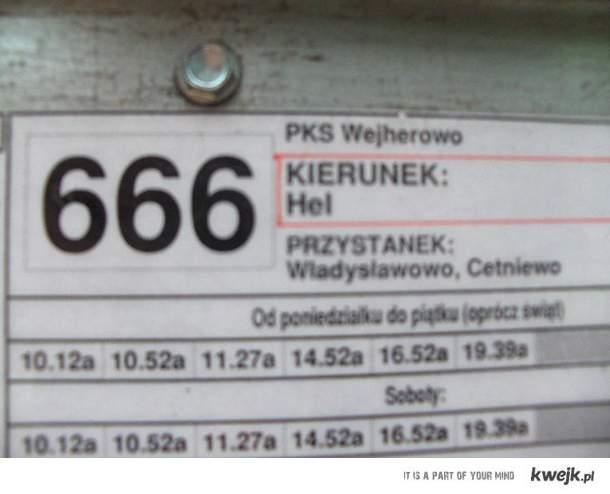 autobus 666