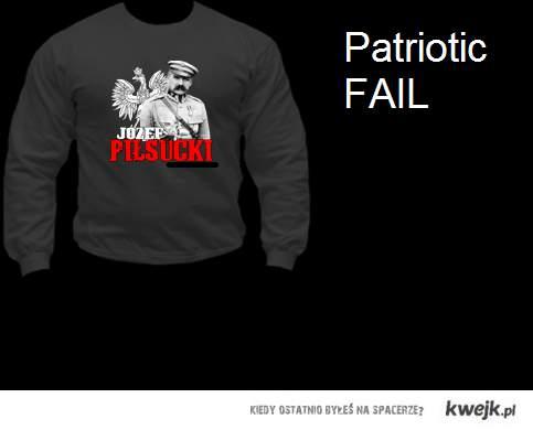 Patriotic fail