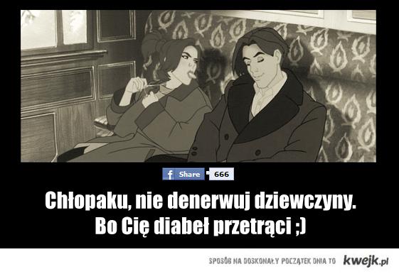 Gdzie diabeł nie może tak kobietę pośle ;)