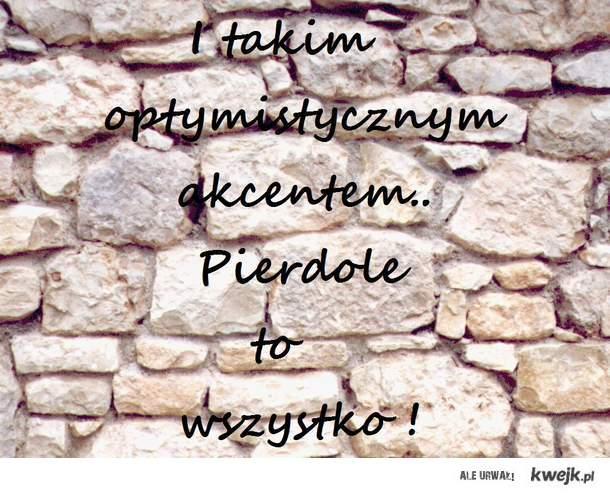 Optymistycznie