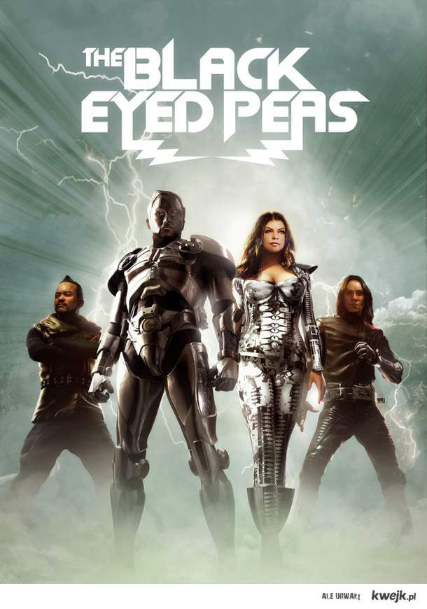 Black Eyed Peas superheroes