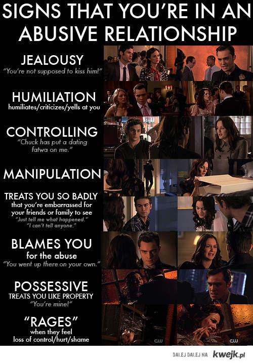 Chuck i Blair to chory związek