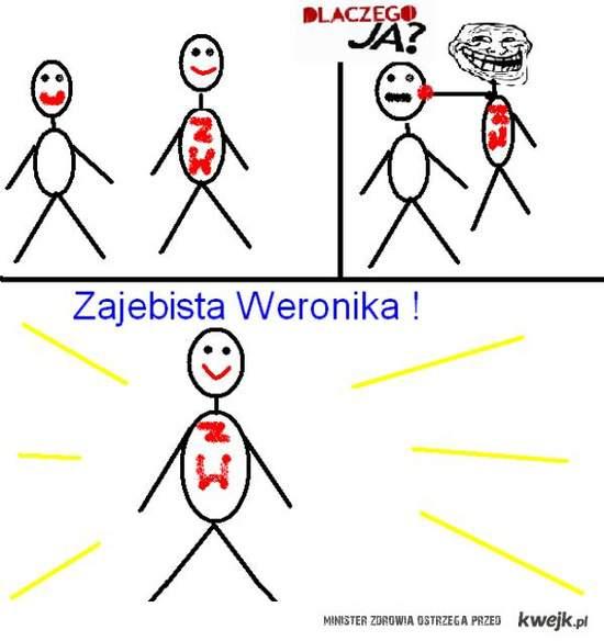 Zajebista Weronika i chuj!:D