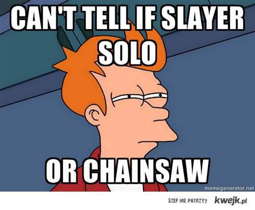 slayer solo