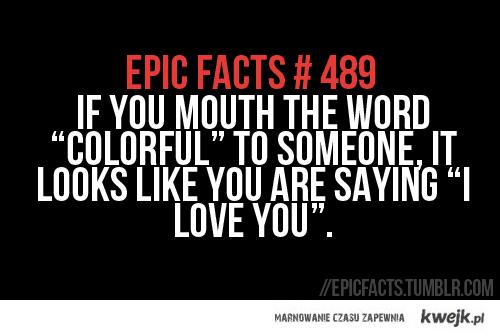 colorful = i love you