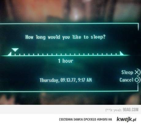 Fallout Sleep