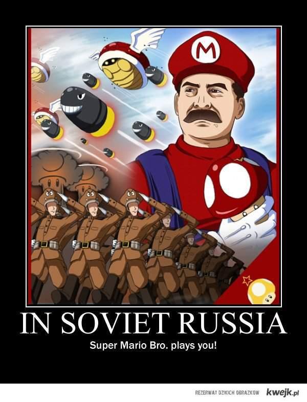 w sowieckiej rosji...