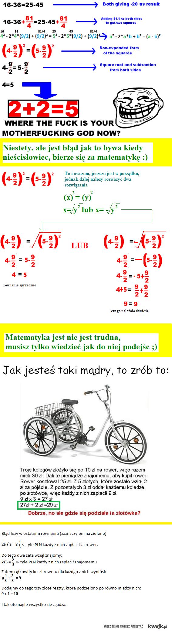 Matematyka poziom podstawowy.