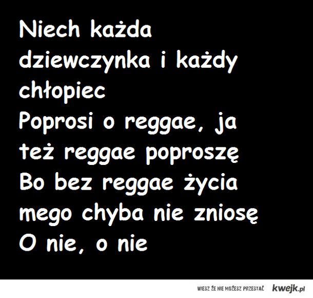 Reggae - jedna milosc