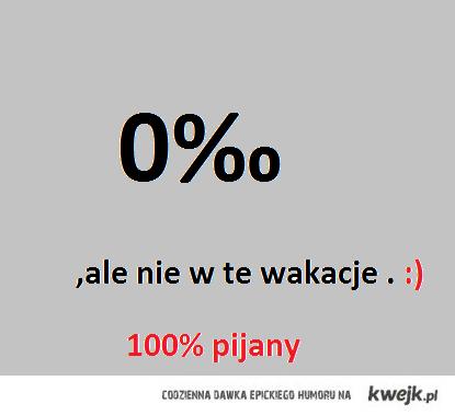 100% pijany