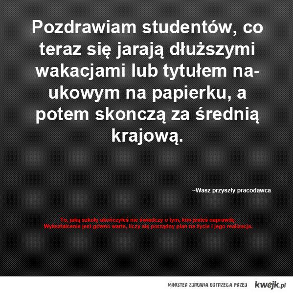 Do studentów