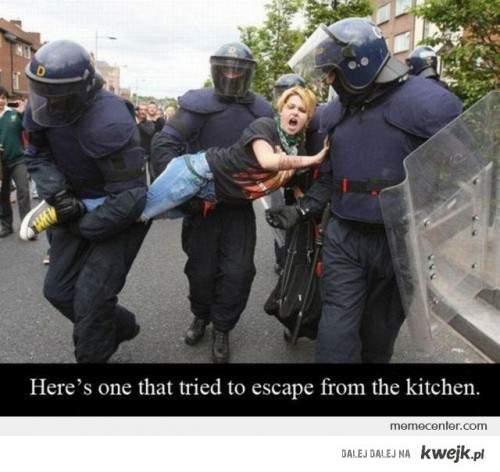Do kuchni!