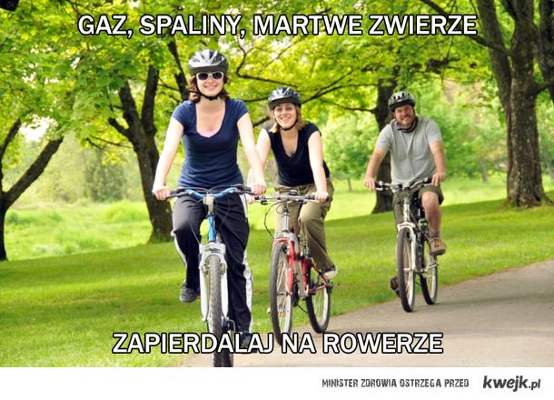 Na rowerze!