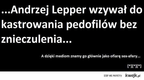 Andrzej Lepper - pamietamy[*]
