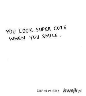 smile? :)