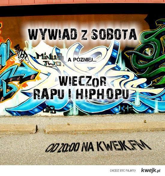 Wywiad z SOBOTA w kwejk FM oraz wieczor rap / hh