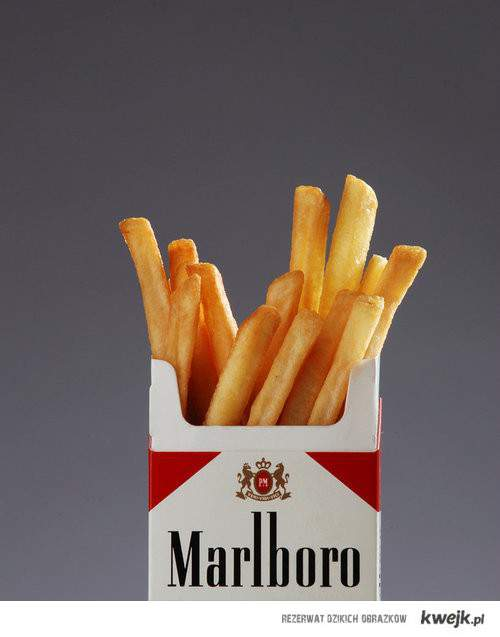 chips cigarettes