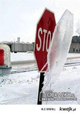 gdy jest zimno ...