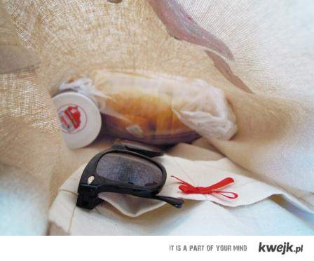 Okulary + nutella + chleb ♥