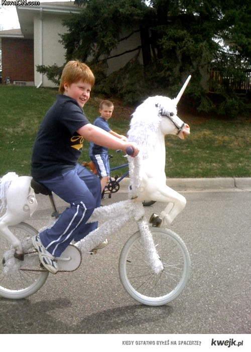 Unicorn-bike