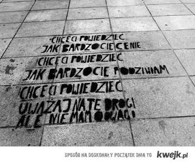 Chcę ci powiedzieć Warszawa