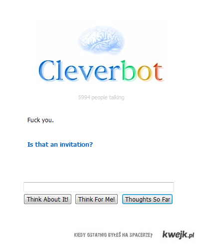 naprawde cleverbot