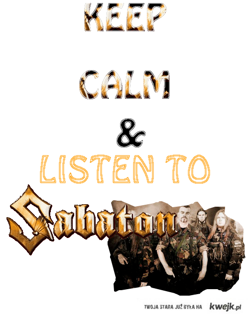Sabaton <3