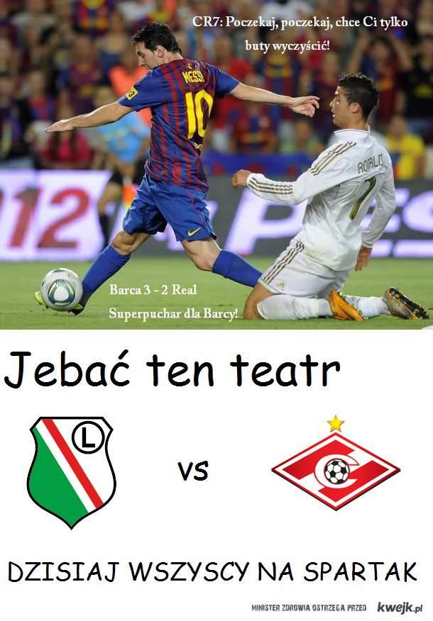 Legia Spartak