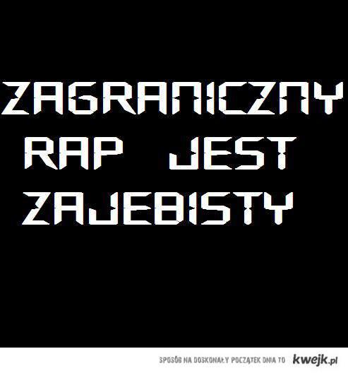 zagraniczny rap