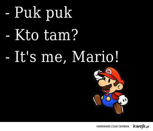 It's meee, Marioooo.