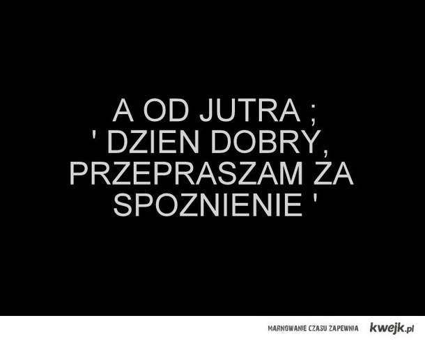 DZIEŃ DOBRY...
