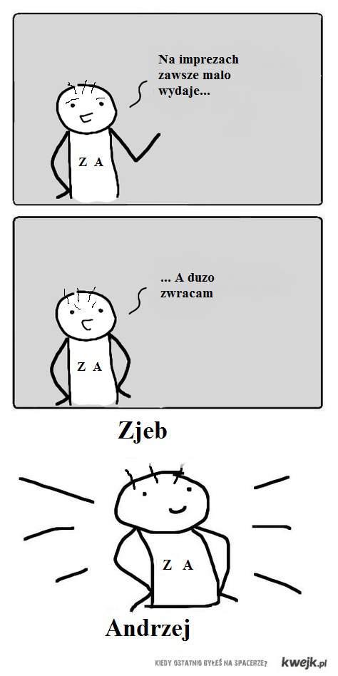 Zjeb andrzej