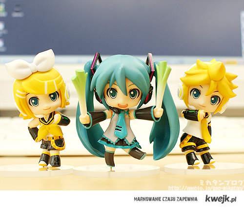 Rin, Miku i Len ♥