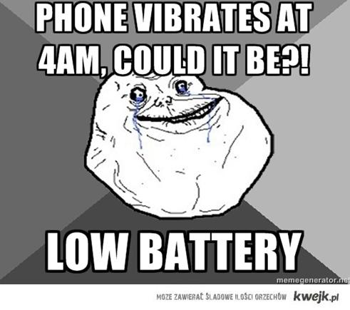 telefon wibruje o 4 rano?