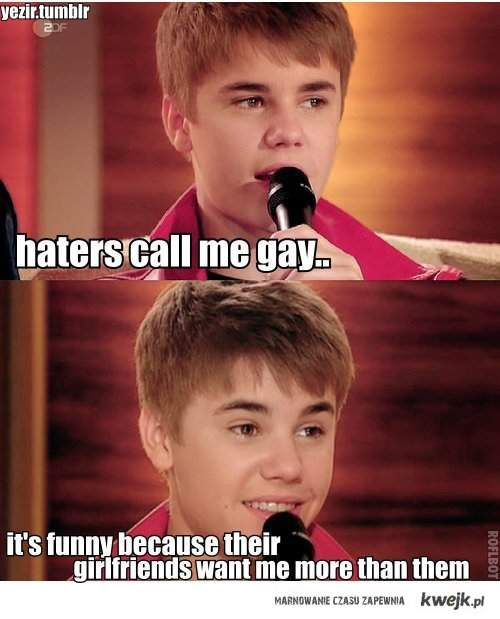 HATERS GONNA HATE? bitch please -.-