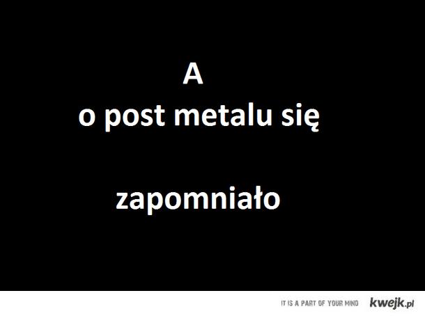 Post metal
