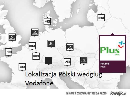 Gdzie leży Polska?