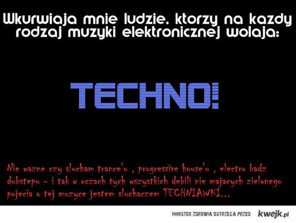 muzyka elektroniczna vs techno