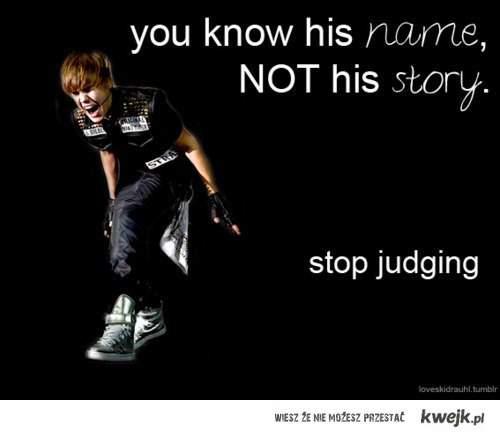 Yeaa ... stop judging ! -.-